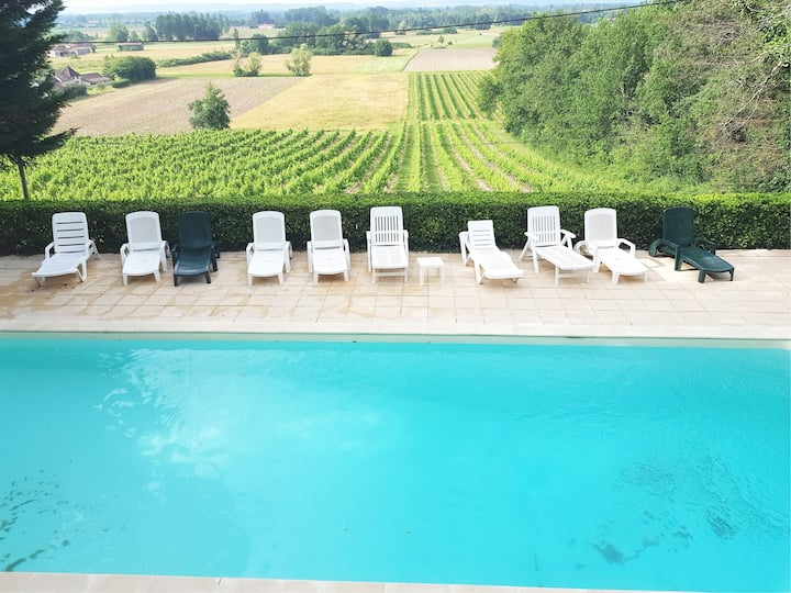Dordogne VILLA swimming pool vacations 2020