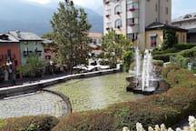 Le fontane...