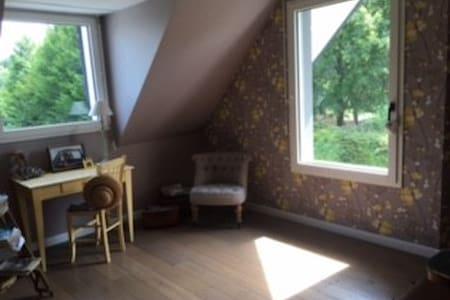Rouen : Charmante Chambre dans Villa Contemporaine