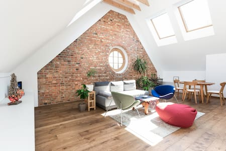 Studio apartment in a historical building