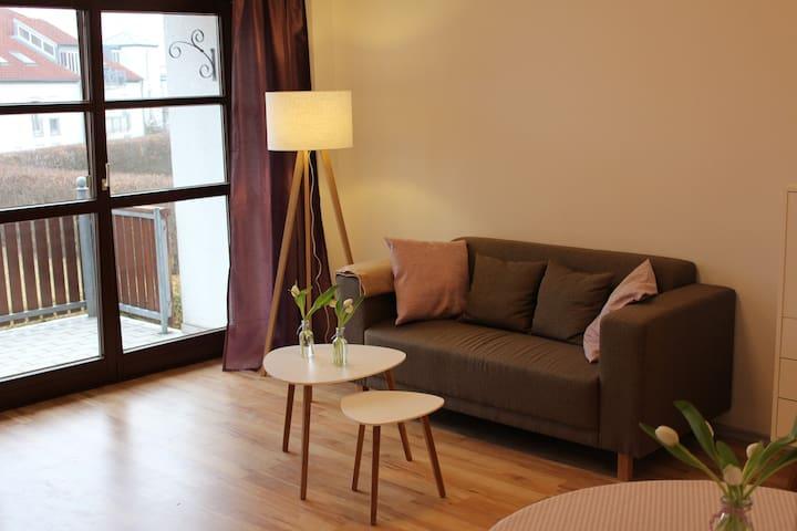 Zentral gelegene und gemütliche Wohnung