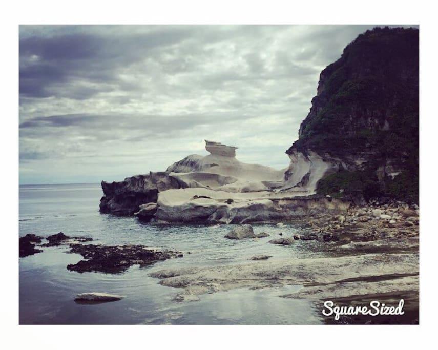 Kapurpurawan rock formation in ilocos Norte. An hour and a half drive from Saud