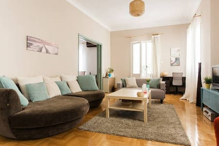 Room near the sea and city center. - Paleo Faliro - Villa