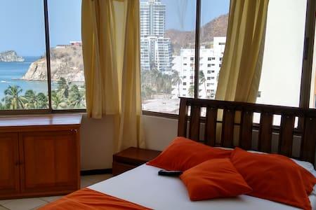 CyM 803 Ed.Diners Rodadero Piscina - 圣玛尔塔 - 公寓