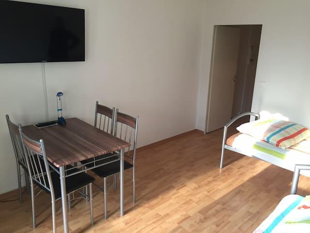 ruhige Wohnung im Grünen - Lipsk - Apartament