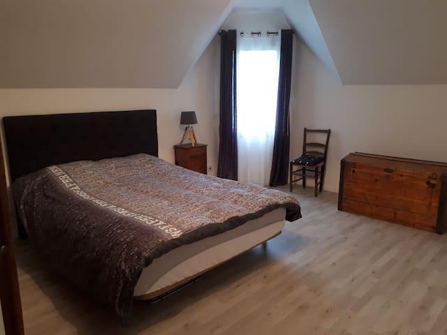 Chambre chez l'habitant à proximité de Rennes