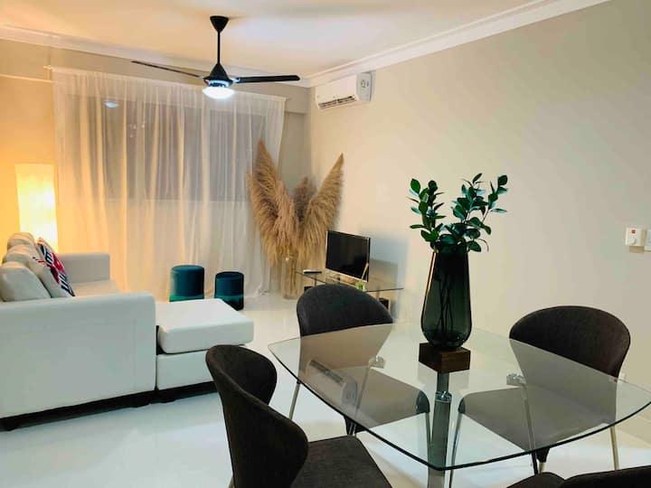 Luxury Apt Perfect Location SDQ WIFI 403 1Bedroom