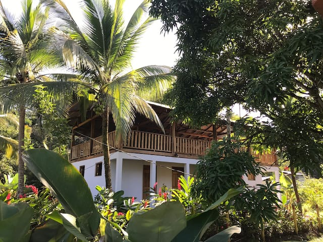 Tropical villa, beach house  birdwatchers dream.