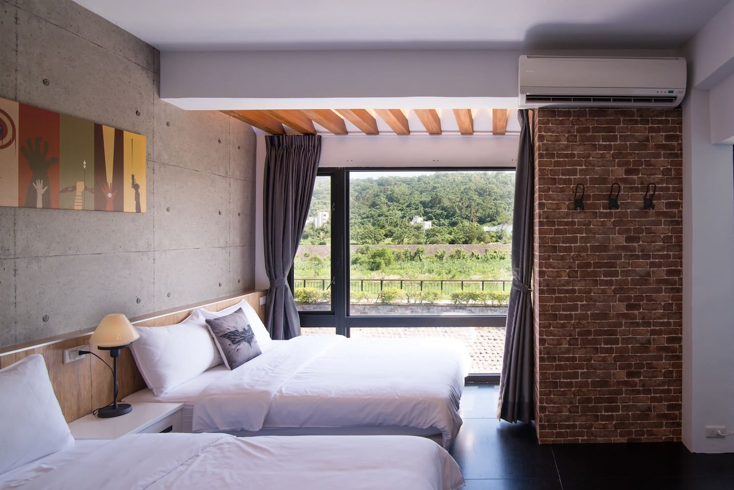 四人景觀房(雙床/1.5米寬)