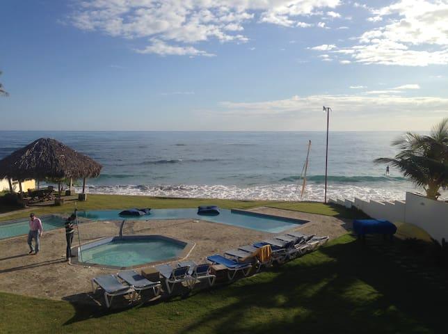 1 Bdrm Beachfront KiteBeach Condo - Cabarete - Apartmen