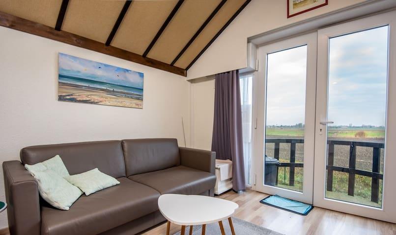 Knus appartement in Vakantiepark Zeepolder De Haan