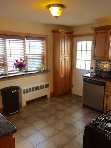Studio style, spacious room conveniently located