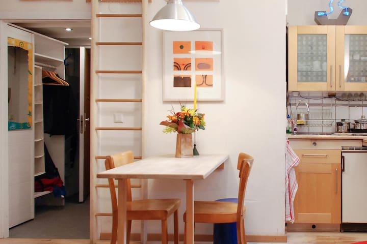 Apartment, central, calm, cosy