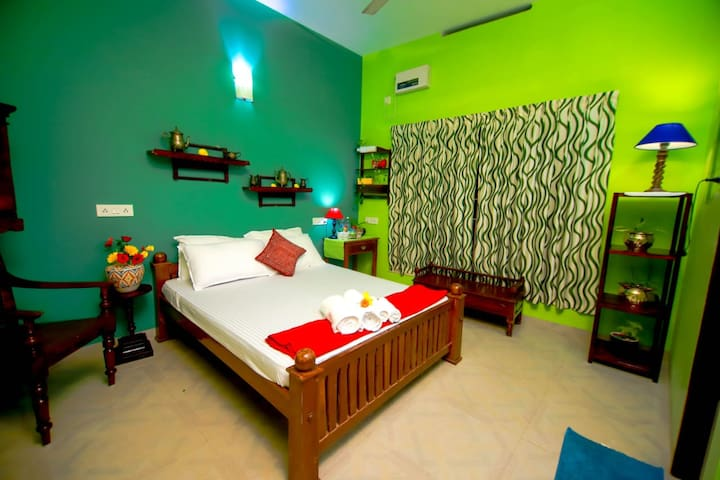 Premium AC Bed Room Greens with Sea View