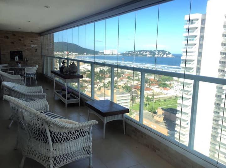 Melhor vista é melhor conforto do Guarujá