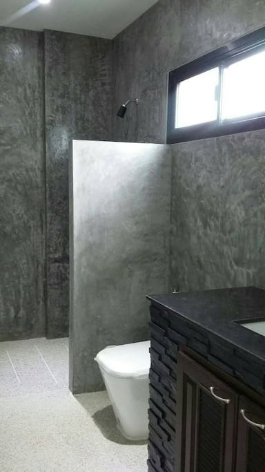 "salle de bain a ""l'italienne"" antidérapante"