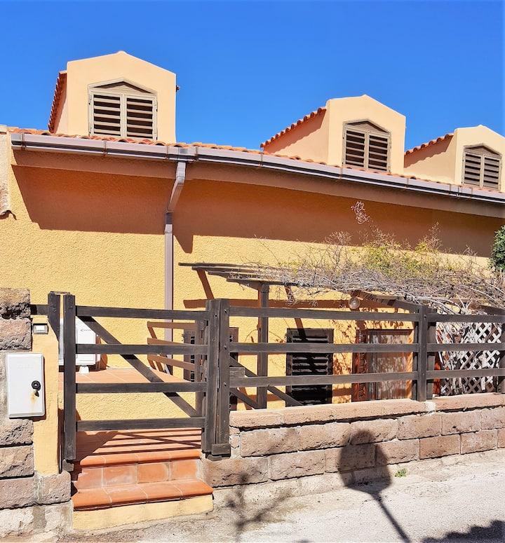 Casa sulla siaggia a Porto Alabe