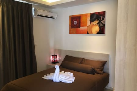 200M to beach & walking street (2/F)-新公寓離海灘及步行街二百米 - Ko Samui - Apartment