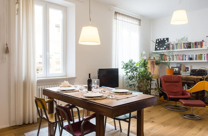Room in nice central apartment with breakfast - Ancona - Appartement