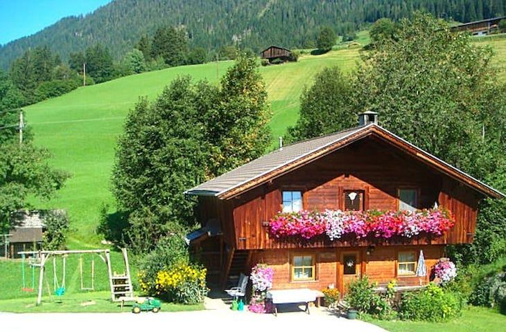 Hüttenappartement mit Kachelofen - Alpbach - Chatka