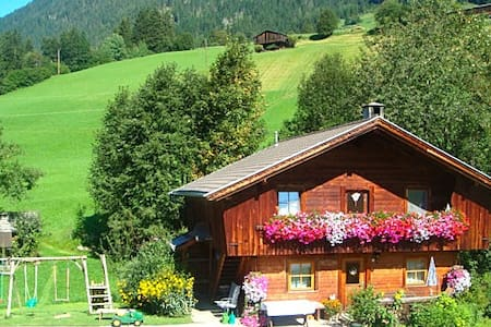 Hüttenappartement mit Kachelofen - Alpbach - Cabana