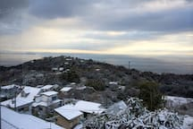 Snowy Views from Balmoral
