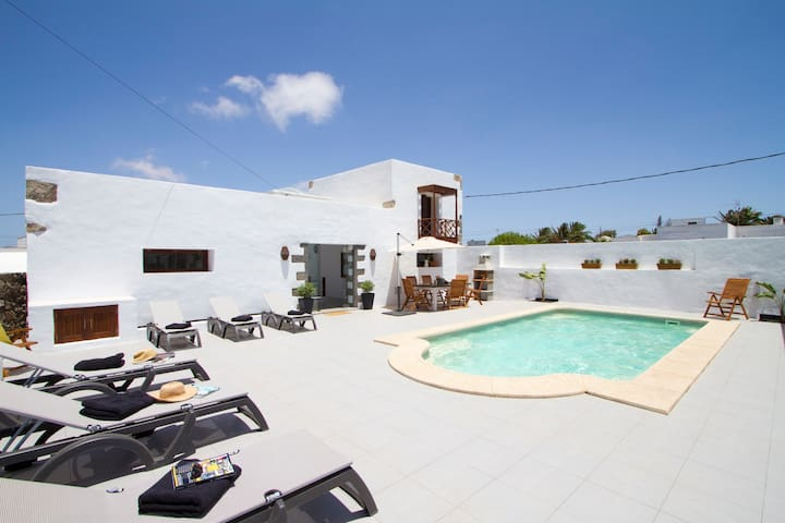 Traditional Canarian 1 bed, Bermejo - Tiagua - Byt