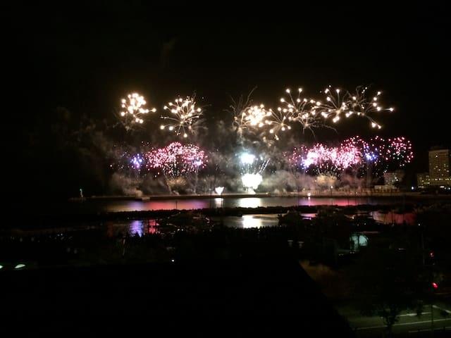 Fireworks in Atami