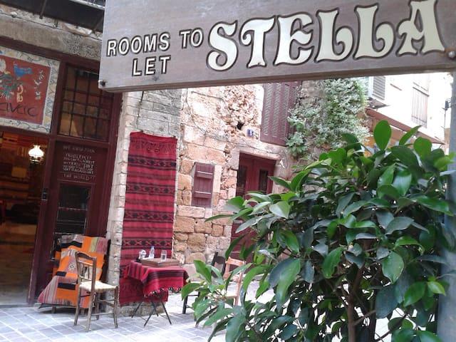 Stella pension  entrance
