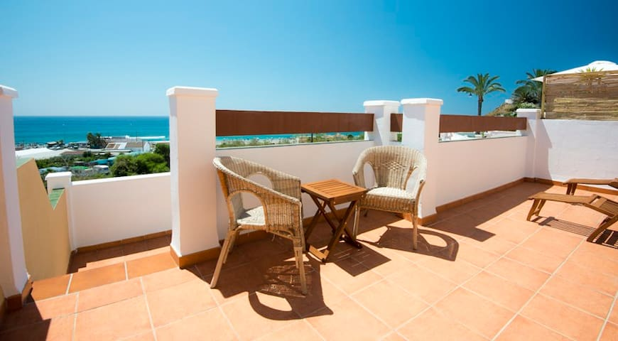Lovely seaview by the beach!  - Torrox - Apartament