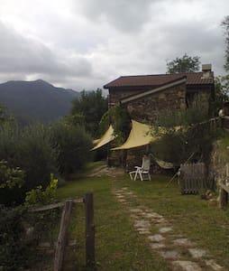 casa tra gli ulivi del 1800 liguria - Borzonasca - House