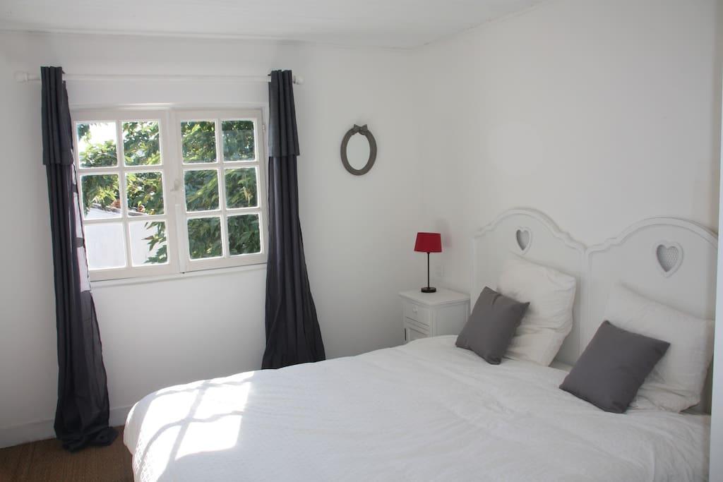 Chambre double (ou 2 lits simples de 90) au 1er