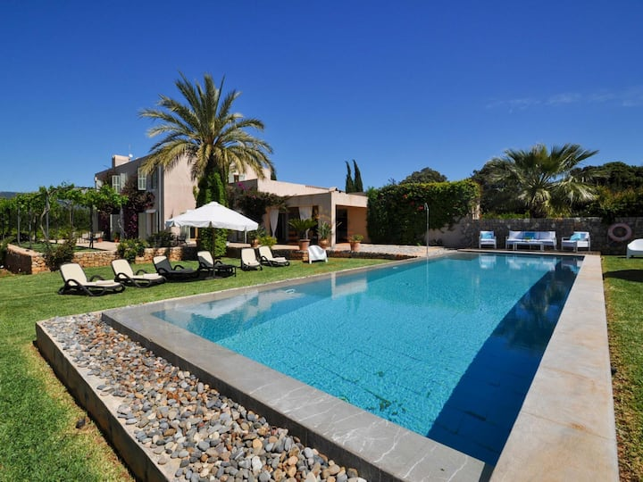 Son Puça I, Luxurious country house in Buger, Majorca