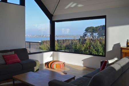 Maison d'architecte vue pleine mer - Saint-Jacut-de-la-Mer - Huis