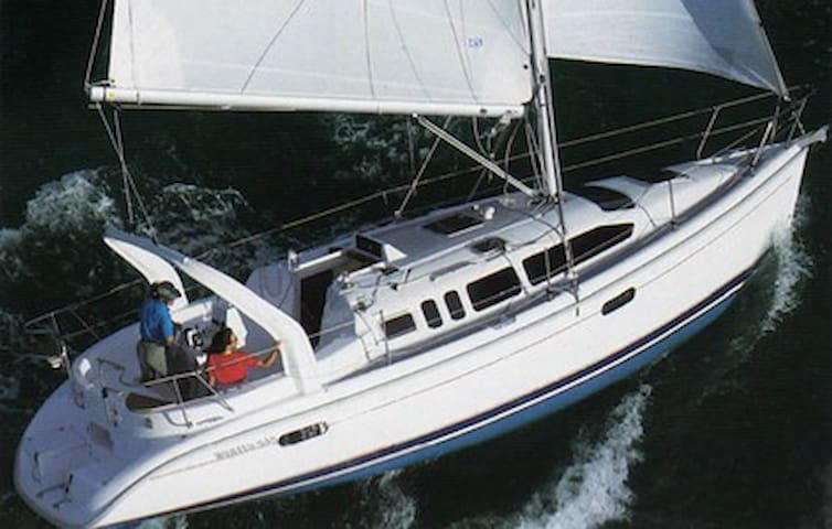 Private Sail Yacht - meals included - Manila - Boot