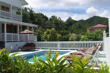 Plantation-style great location - Rodney Bay - Appartement