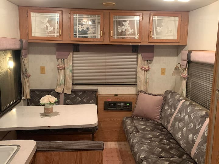 Large Fifth Wheel RV + Main House Access