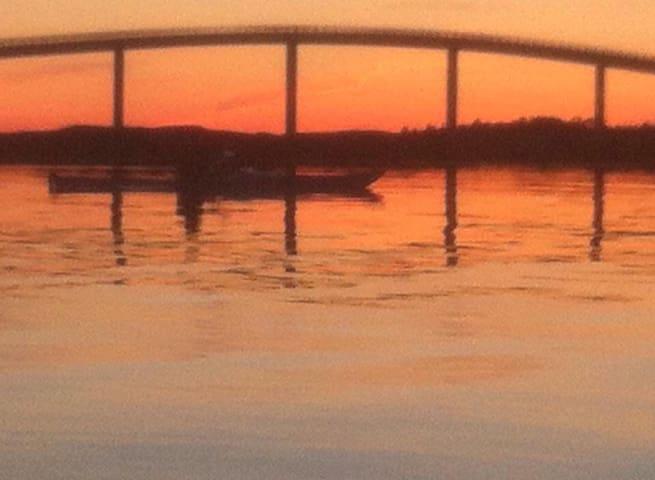 Nydelig solnedgang