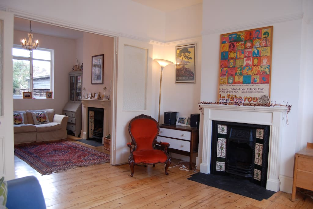 Funky 4 bed family house london for Funky house london