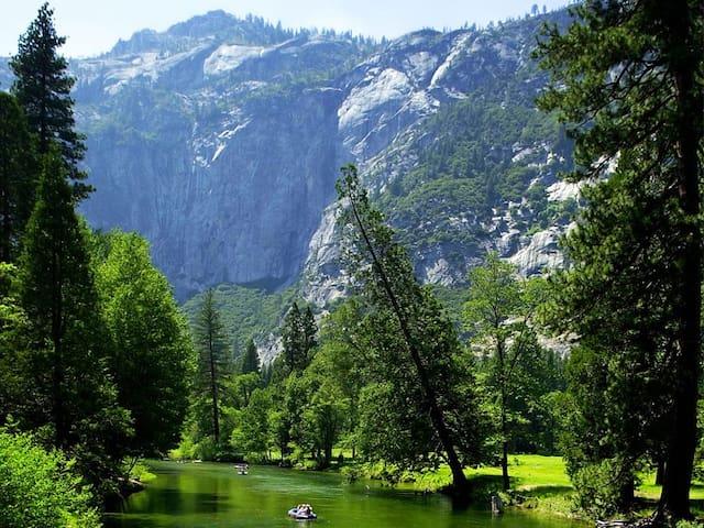 Rustic Cabin Near Yosemite!