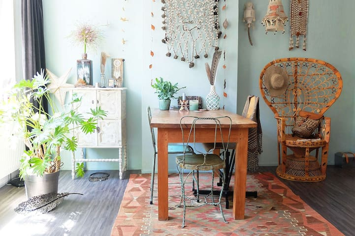 Bohemian Cosy home close to Beautiful parc