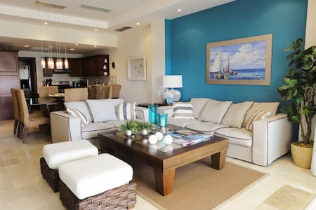 Cap Cana Luxurious Marina Condo, exclusive beach!