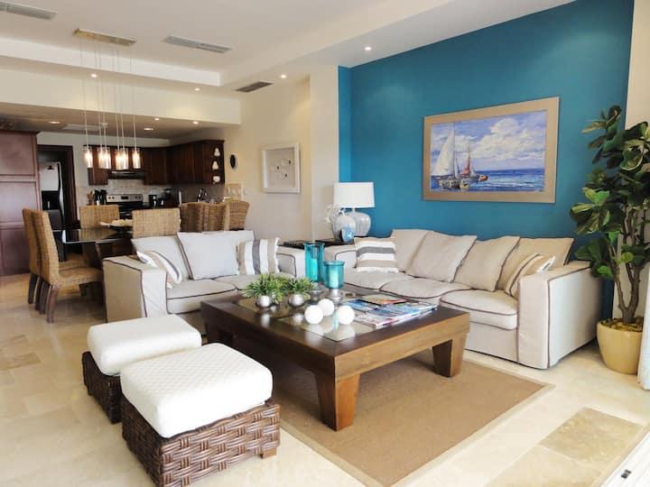 Cap Cana Luxurious Marina Condo, exclusive beach!