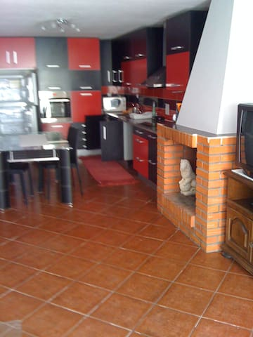 Appartement dans une grande maison
