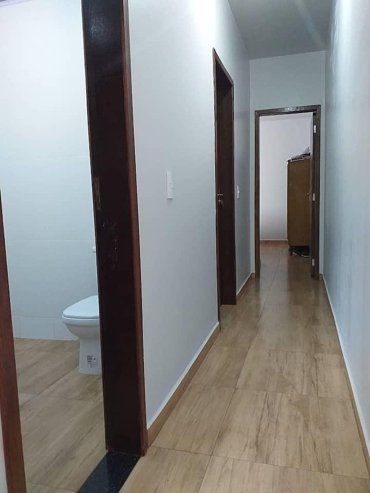 apartamento novíssimo confortável