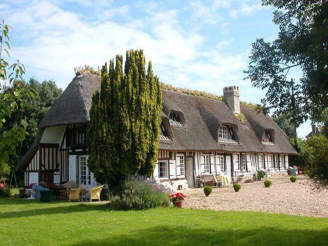 Charm Normandy Chaumière Honfleur - Honfleur  - 一軒家