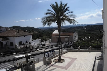Private rural apartment with amazing views - Castellnovo