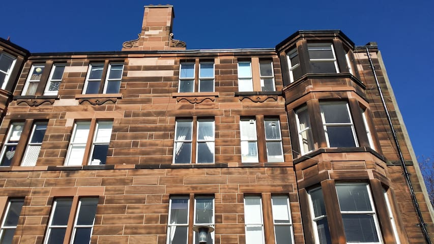 Sunny quiet 1 bedroom apartment - Edinburgh - Apartment
