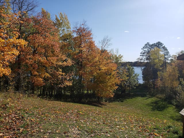 Fall Colors! Cabin w/Lakefront & Dock Pets Allowed