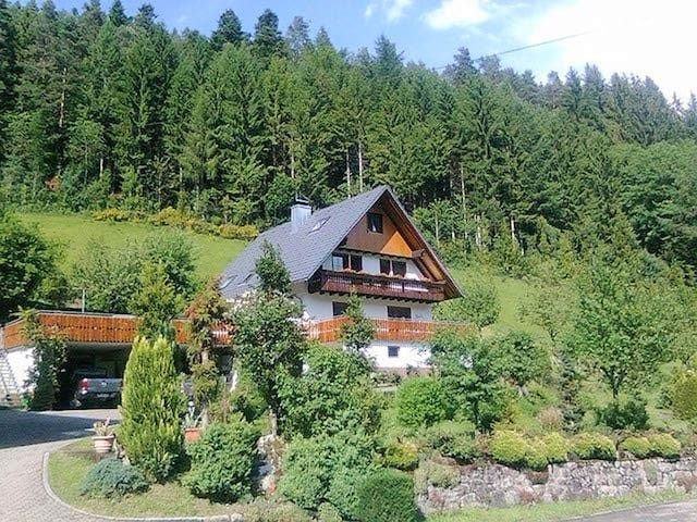 Waldbauernhof, (Hornberg), Ferienwohnung, 80 qm, 2 Schlafzimmer, 1 Wohnzimmer, max. 4 Personen